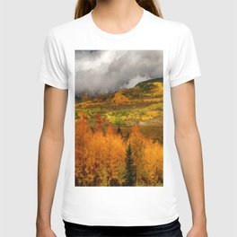 Autumn Scene at Crested Butte, Colorado T-shirt