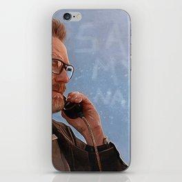 Say My Name - Walter White - Breaking Bad iPhone Skin
