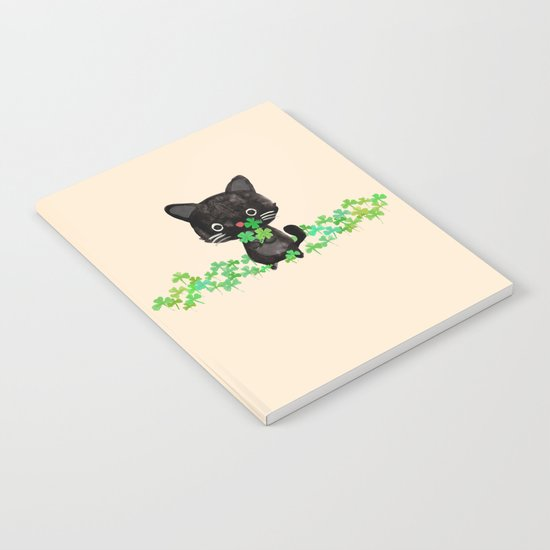 The Luckiest Cat Notebook