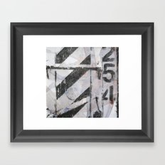 Dumpster 254 Framed Art Print