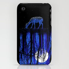 deep blue forest iPhone (3g, 3gs) Slim Case