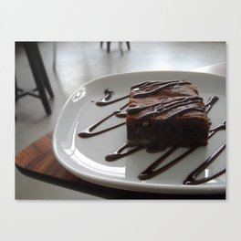 Who loves cake? Canvas Print