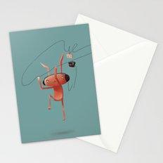 Rabbit Listening Stationery Cards