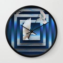 Soar the Skies Wall Clock