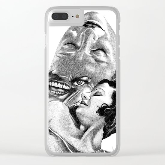 The Nocturnal Pleasures of Evelyn Clear iPhone Case