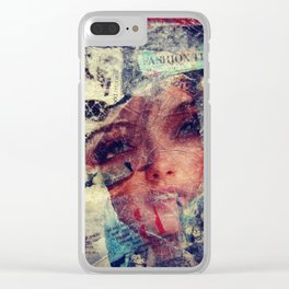 Fashion Tips Clear iPhone Case