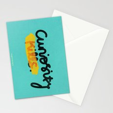 Curiosity Kills Stationery Cards