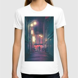 Together - Tokyo Japan Night Photography T-shirt