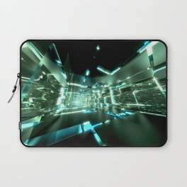 Emerald Tunnels no2 Laptop Sleeve