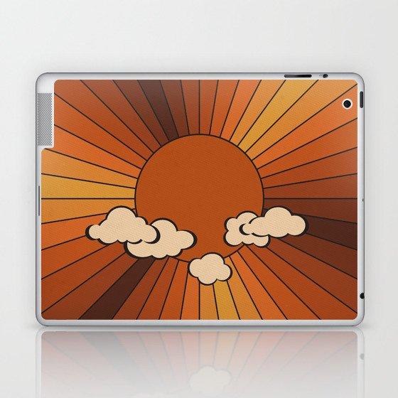 Retro Sunshine Laptop & iPad Skin