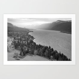 Columbia River Gorge Art Print