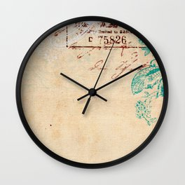 Cafe Latte Wall Clock