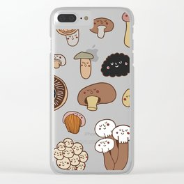 Shrooms Clear iPhone Case