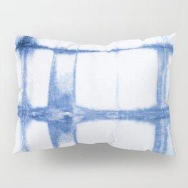 Shibori Blue - Rectangles Pillow Sham
