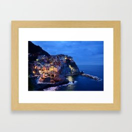 Italy Amalfi Coast Framed Art Print