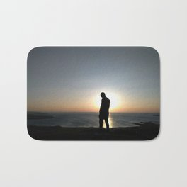 """Touch the Sky"" by Barry James Lee Bath Mat"