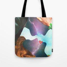 Electric Love Tote Bag