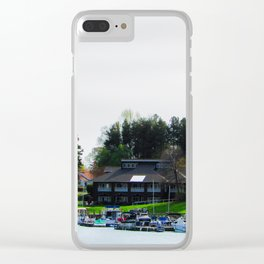 Lake Lure. Lets Get Away Clear iPhone Case
