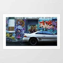 City Colours Art Print