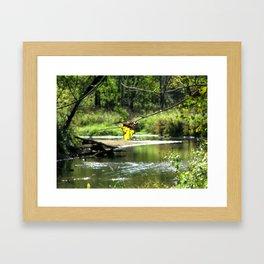Peaceful Waters Framed Art Print