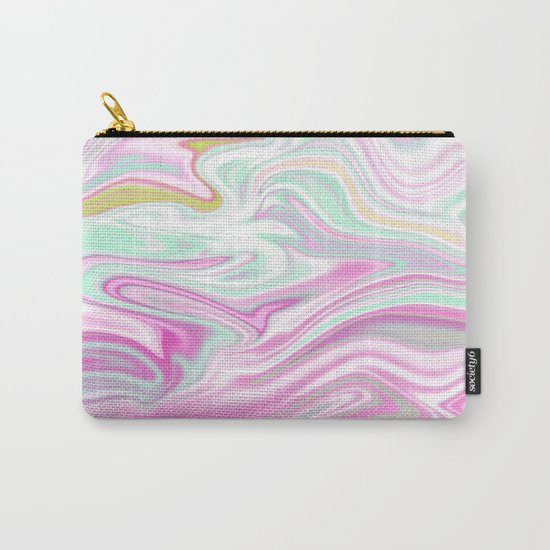 Iridescent Marble 03 Carry-All Pouch
