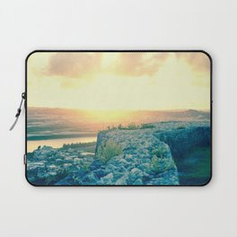 Sunset at Katsuren Castle Laptop Sleeve