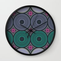 returns Wall Clocks featuring Mod Returns by MY  HOME