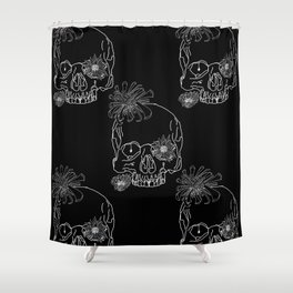 Mum Skulls Shower Curtain