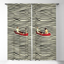 Illusionary Boat Ride Blackout Curtain