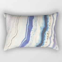 Agate geode pattern Rectangular Pillow