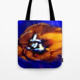 abstract flower   yy Tote Bag