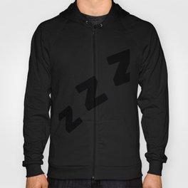 Zzzs in Black Hoody