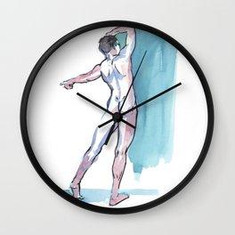 JACOB, Nude Male by Frank-Joseph Wall Clock