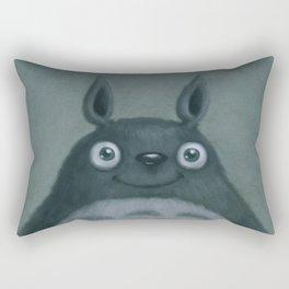 The Silver Fluffhugger Rectangular Pillow