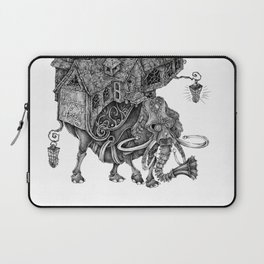 the wandering library 2 Laptop Sleeve