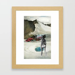 Valley Of Bloom Framed Art Print
