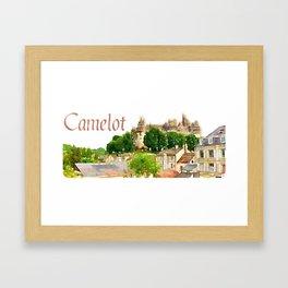 Pierrefonds Castle, France (Camelot) Framed Art Print