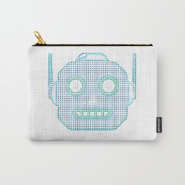 Robot Emoji Carry-All Pouch