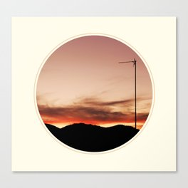 Spoiled sunset Canvas Print