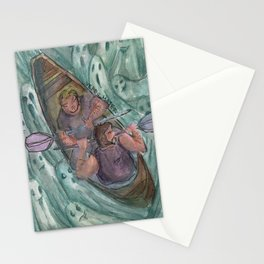 bears and ghosts Stationery Cards