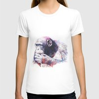 monkey island T-shirts featuring Monkey by Cristian Blanxer