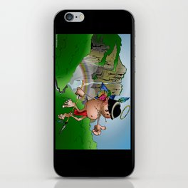 Dos Angeles - Two Angels iPhone Skin