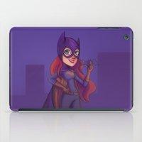 batgirl iPad Cases featuring Batgirl by Blanca Limón
