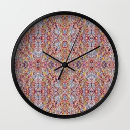 Bamboo Shimmy Wall Clock