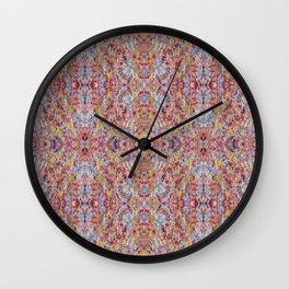 Bamboo Shimmy Wall Clock