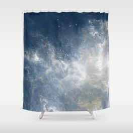 Ciel au Lait Shower Curtain