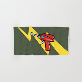 Ray Gun Hand & Bath Towel