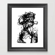 Runners Run Framed Art Print