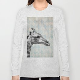 Retro Giraffe Long Sleeve T-shirt
