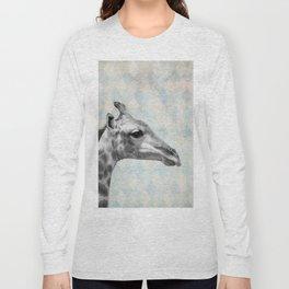 Retro Giraffe Long Sleeve T-shirt